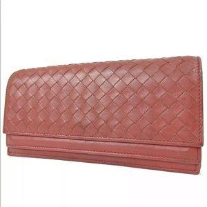 Auth Bottega Veneta Intrecciato Leather BW17W48